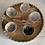 Thumbnail: Medium ceramic glazed dip bowl - hand painted