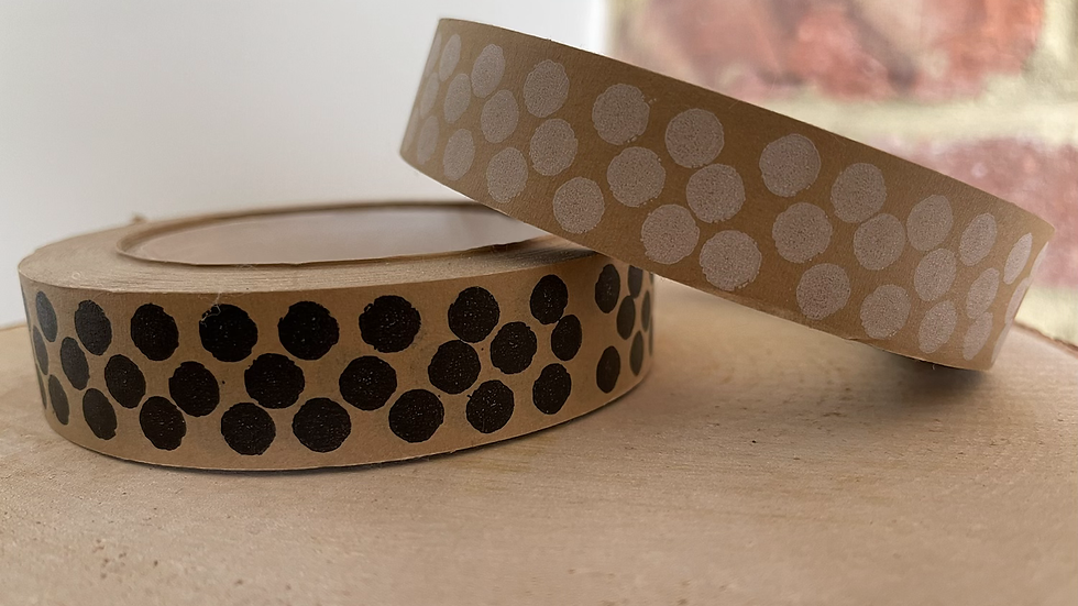Wide Brown Gift Tape