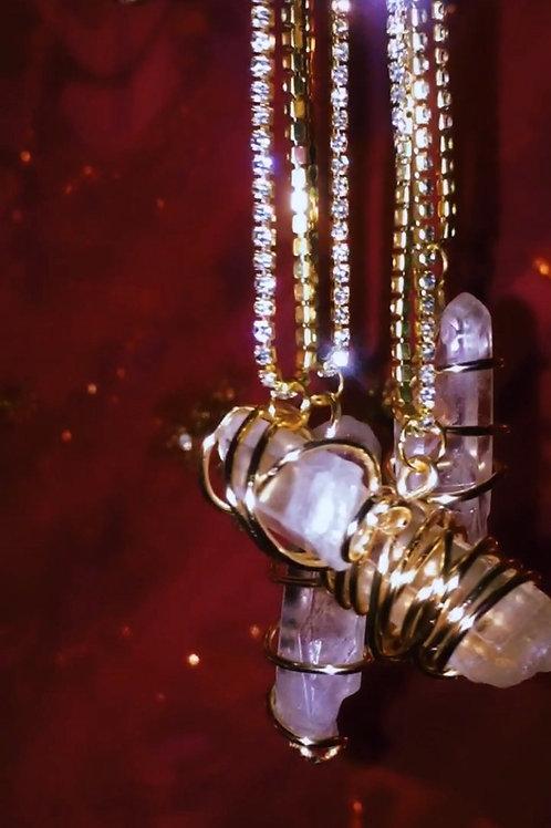 Akasha Quartz Necklace