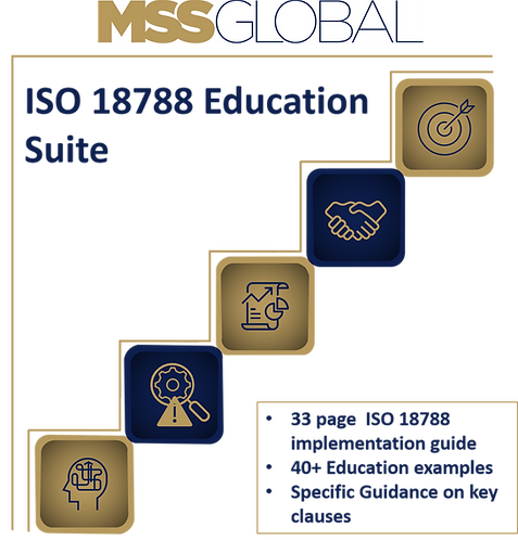 ISO 18788 Education Suite