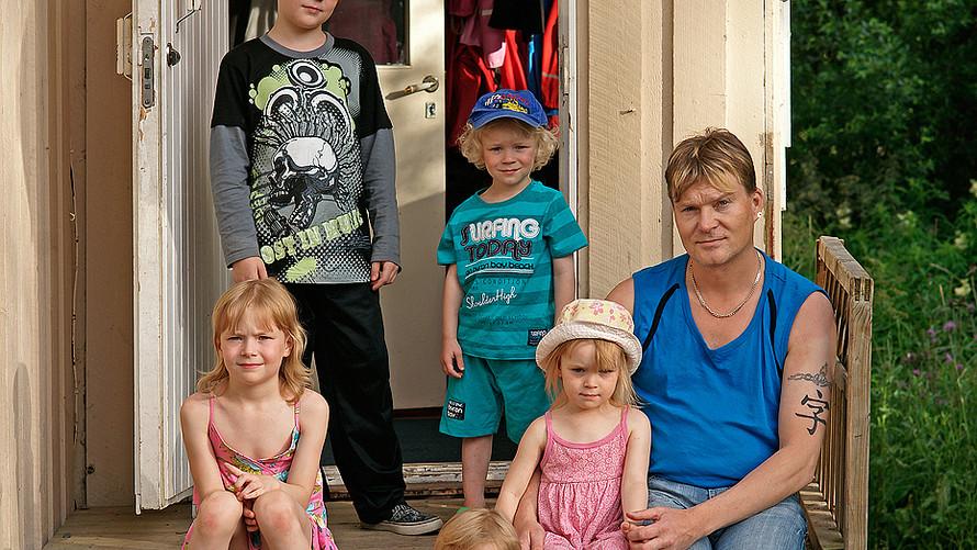 08 Janne, Antti, Henna, Noora Elina and Jani Hiltunen. Juuka 2012