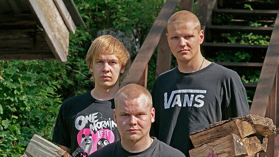 23 Tommi Timonen, Sami Lehtinen and Arttu Mikkola. Juuka 2012