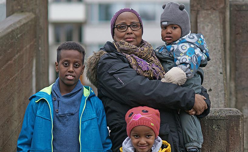 15 Yusuf, Rahmo, Yaqvb and Deborah Aden. Helsinki 2012