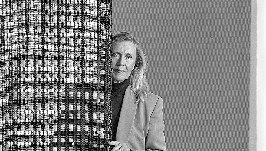 42 Ritva Puotila. Textile designer. Helsinki 1995