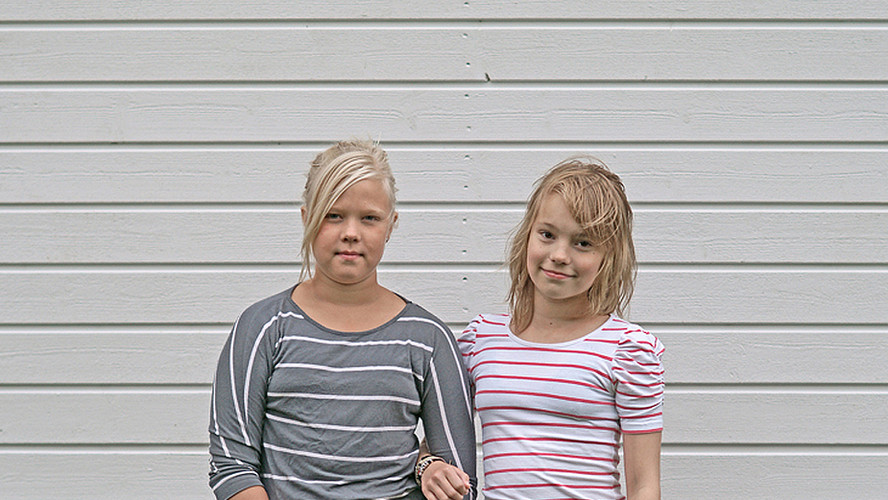 16 Nea Poranen and Olivia Heinonen. Lapua 2012