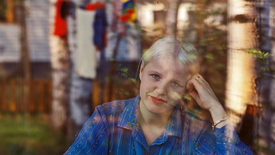 18 Aulikki Oksanen. Writer. Helsinki 1979