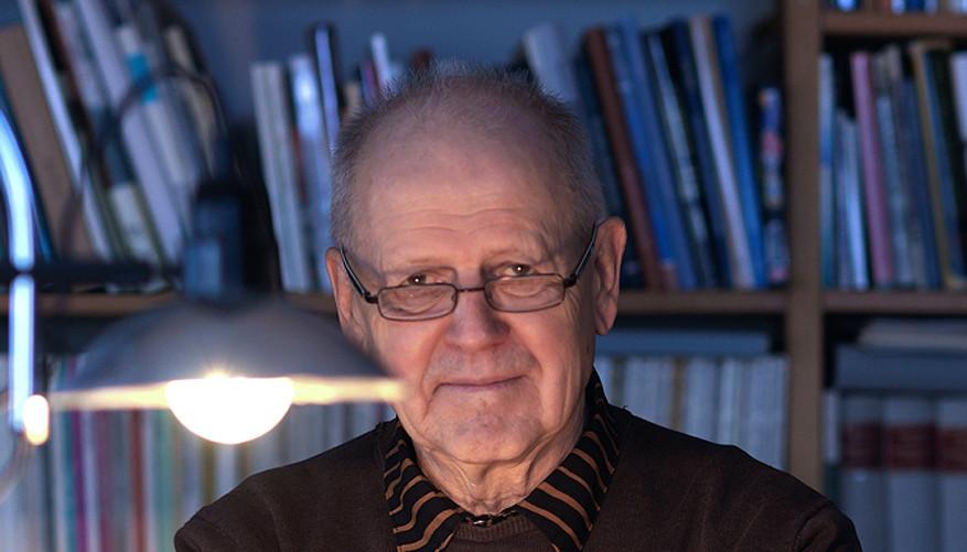 37 Antti Tuuri. Novelist. Helsinki 2018