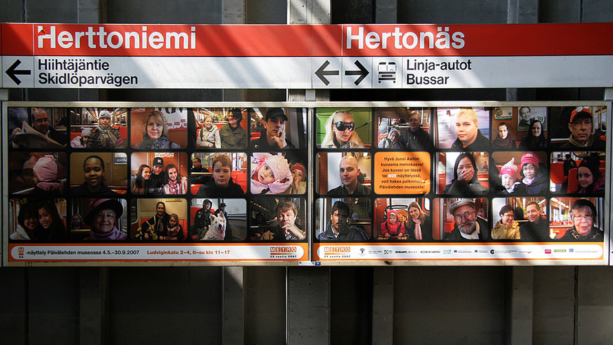 09 Metro passengers. 2007