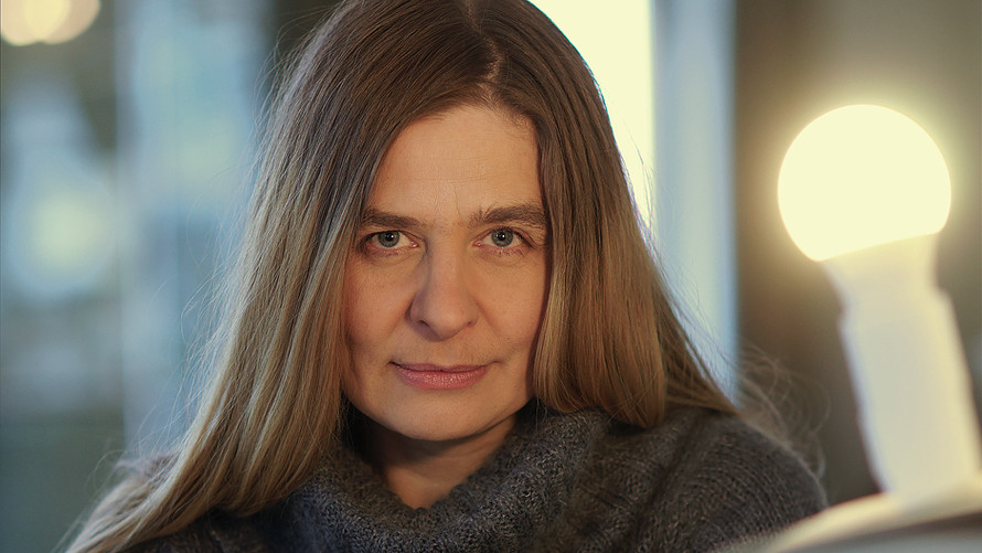 38 Riikka Pelo. Novelist. Helsinki 2018.