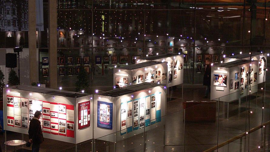 08 Men at Work exhibition. 2004