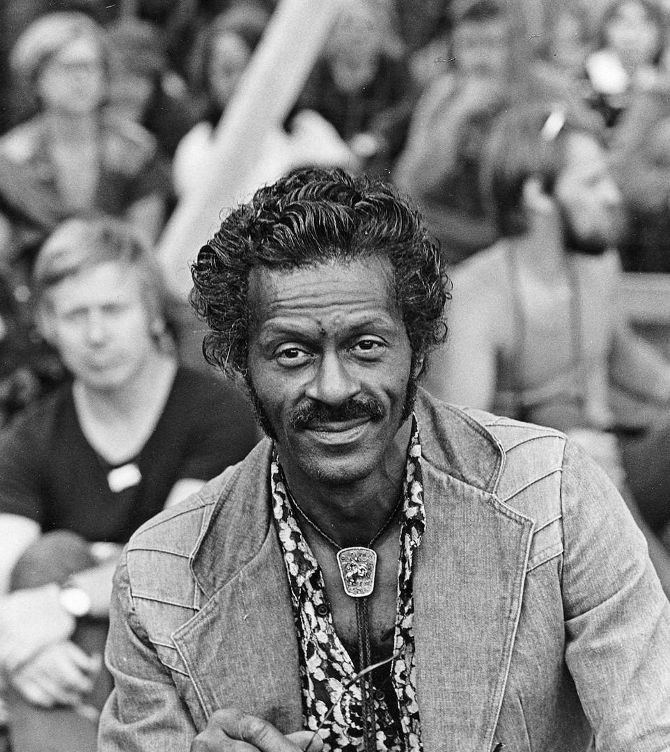 14 Chuck Berry. Turku 1976
