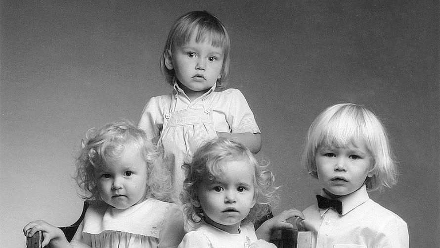 32 The Ratsula children. Helsinki 1986