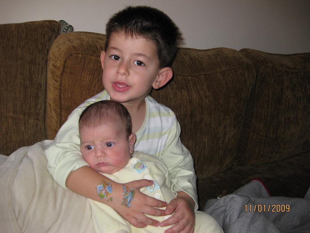הבנים שלי..כשהיו קטנים
