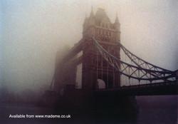 Fog over tower bridge copy