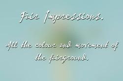 Fair impressions title