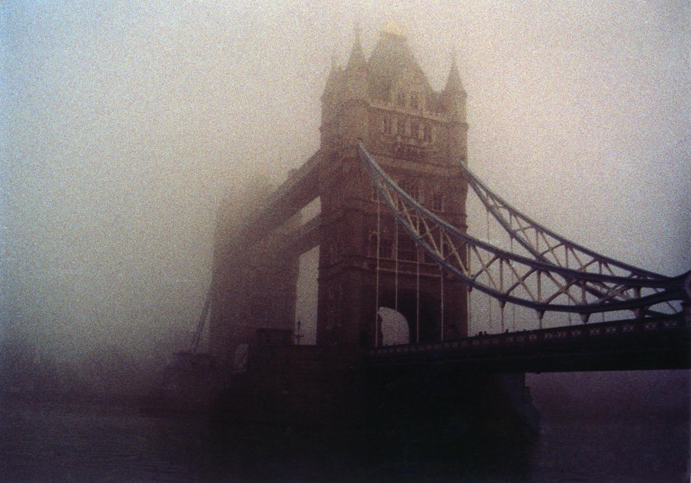 Fog over Towerbridge