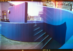 Corners of Blue