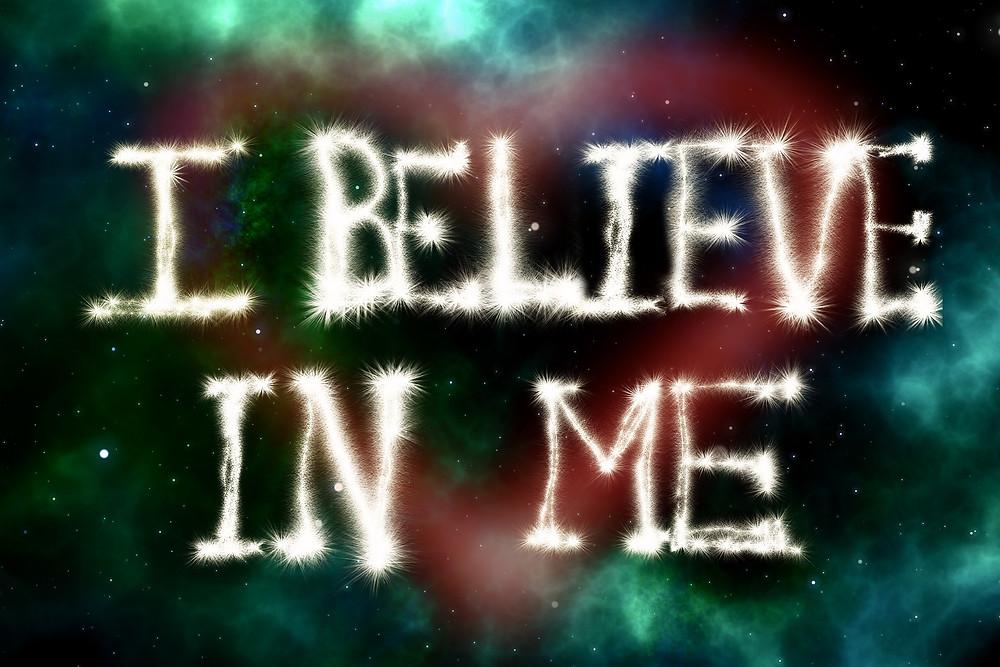 Improving self-esteem. Positive affirmations.