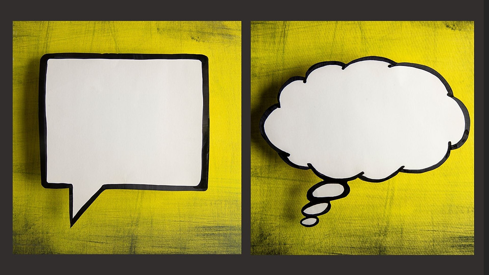 Different ways we process thoughts and emotions and communicate