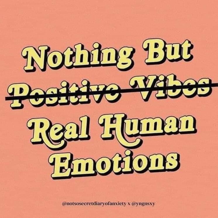 Real human emotions