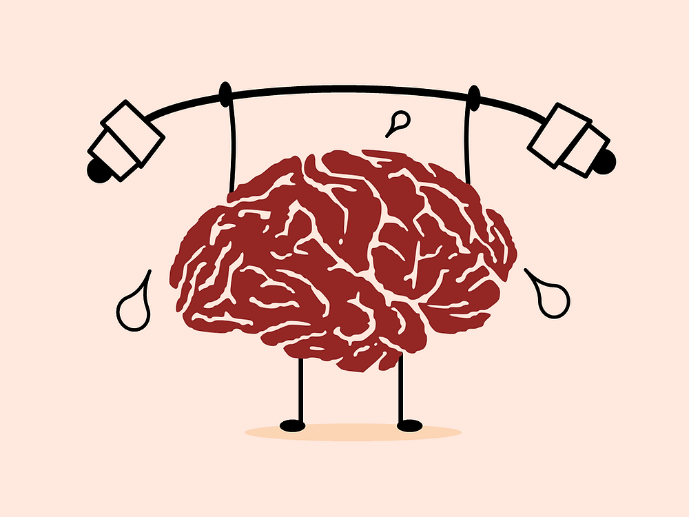 Exercising and re-training the mind