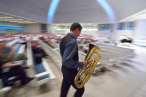 That moment when you're on... At Lieksa Brass Festival Finland