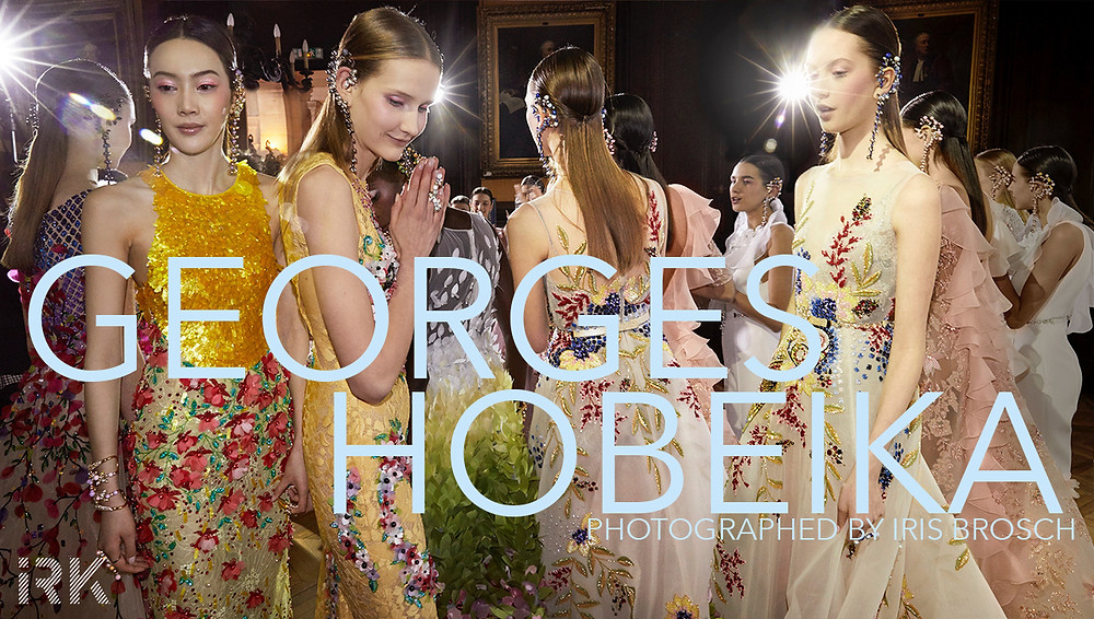 GEORGES HOBEIKA SS17 photographed by IRIS BROSCH