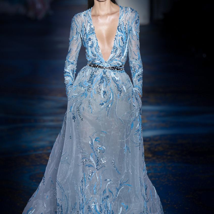 Zuhair Murad Haute Couture spring summer 2019 Aquatic Serenade. Photographer Antonio SO.