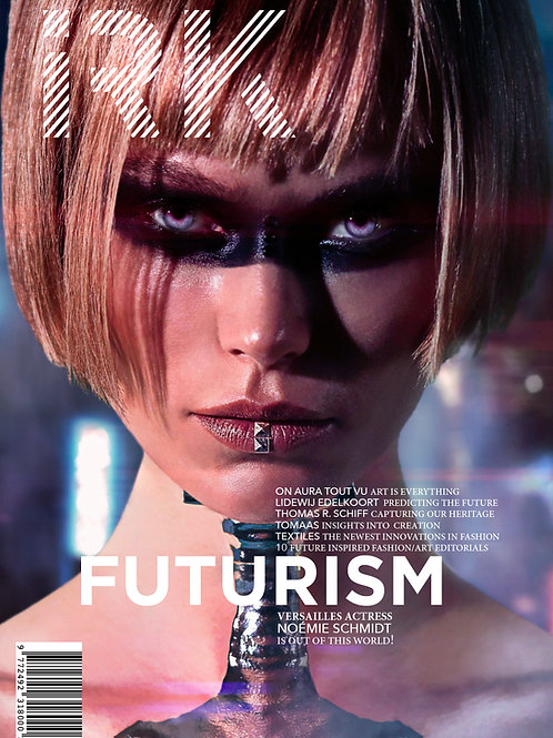 "IRK Magazine, FUTURISM issue 5 - ""Surrender""cover (Print)"