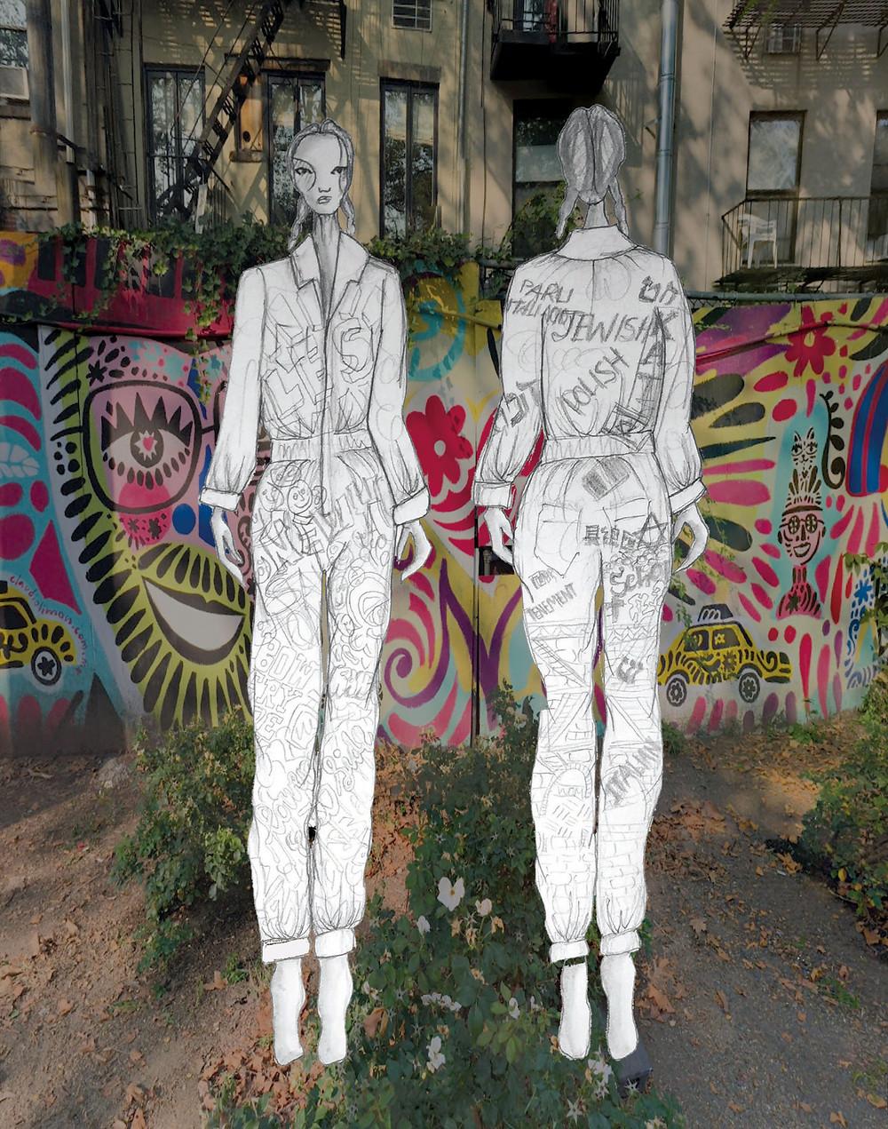Lower East Side: illustration by Mikki Mccann