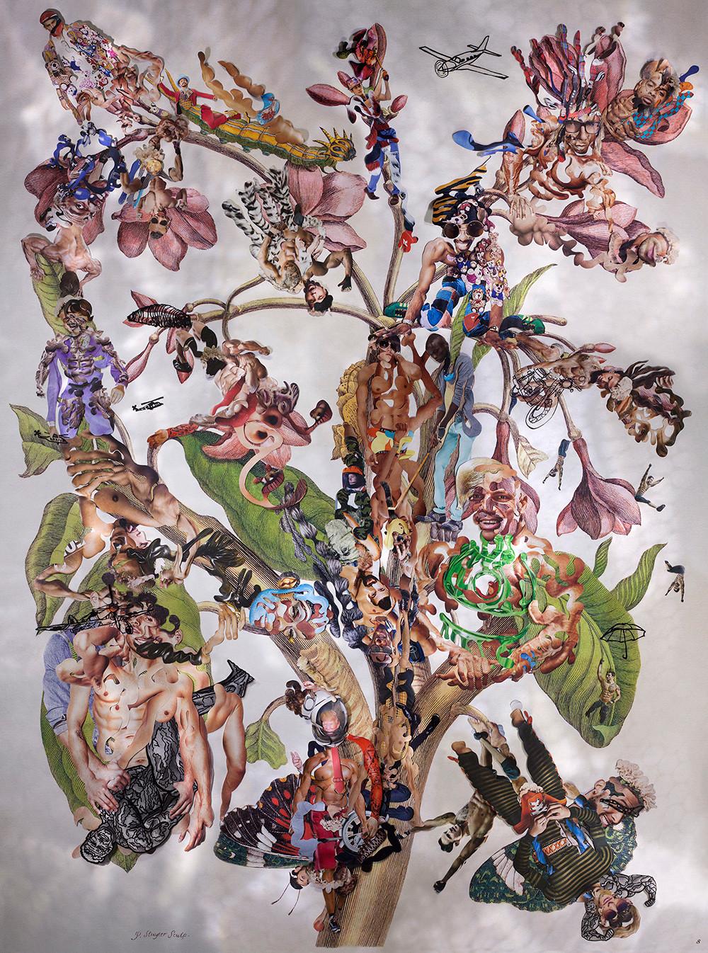 Dominique Paul, Insects of Suriname 23, 2014, ©© Dominique Paul, 198 x 147 cm, Archival pigment print, Œuvre exposée par : MIYAKO YOSHINAGA