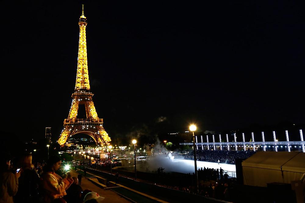 YSL show ss/18, Trocadéro,Paris