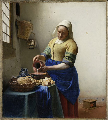 """Vermeer and the Masters of Genre Painting"" at Musée du Louvre."