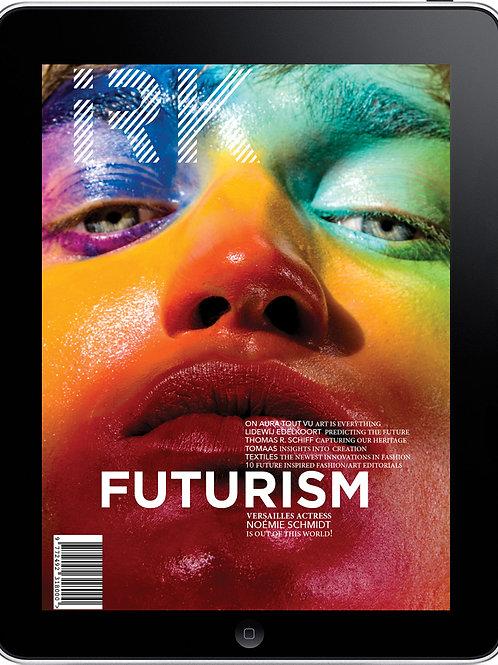 """IRK Magazine, FUTURISM issue 5 -""""Cut & Paste"""" cover-digital pdf"""