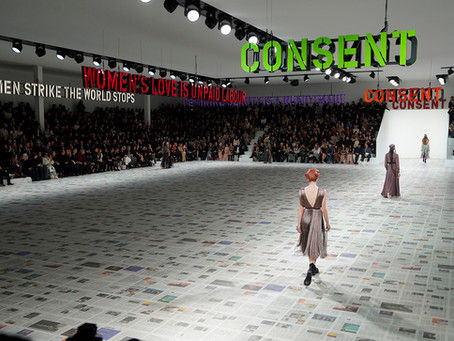 "DIOR FW 2020/21""Women Raise the Upraising"""