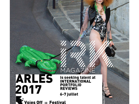 IRK MAGAZINE PORTFOLIO REVIEWS at the VOIES OFF ARLES PHOTO FESTIVAL