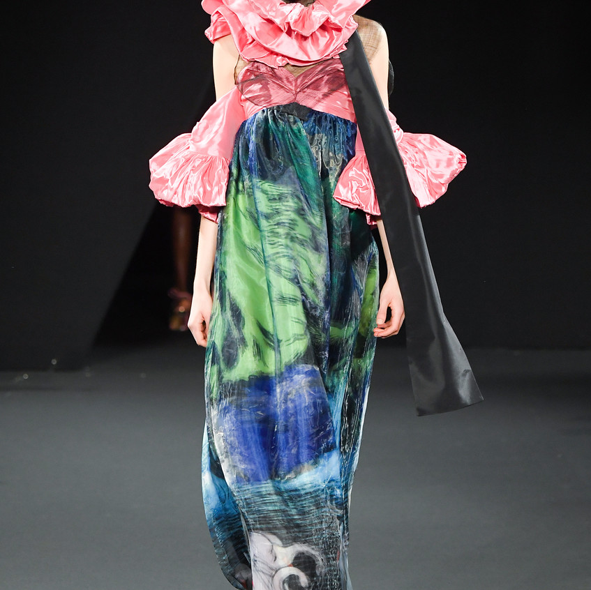 "Yumi Katsura ""The elegance Tie"" Couture spring-summer 2019 collection"