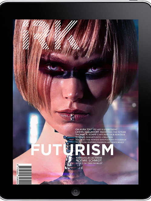 "IRK Magazine, FUTURISM issue 5 - ""Surrender cover""-digital pdf"