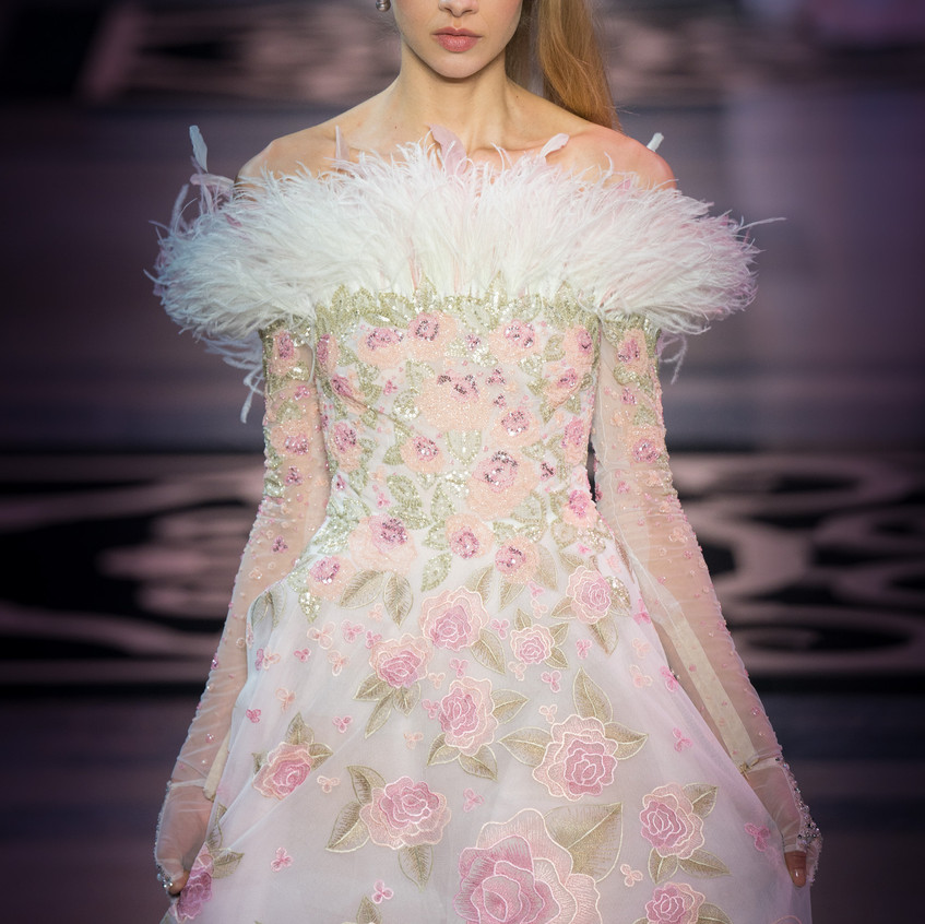 "Georges Hobeika SS19 ""Marie Antoinette"" Photos by Antonio SO"