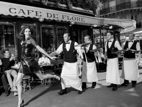 Homage to CAFE DE FLORE curated by 2 ART ANGELS at the GALERIE ANNE & JUST JAECKIN in PARIS