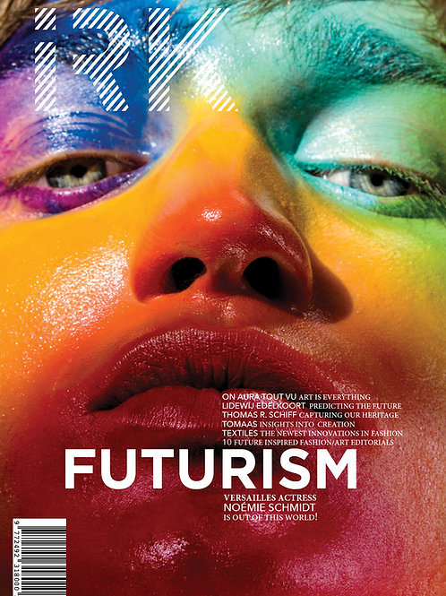 "IRK Magazine, FUTURISM issue 5 -""Cut & Paste"" cover (print)"