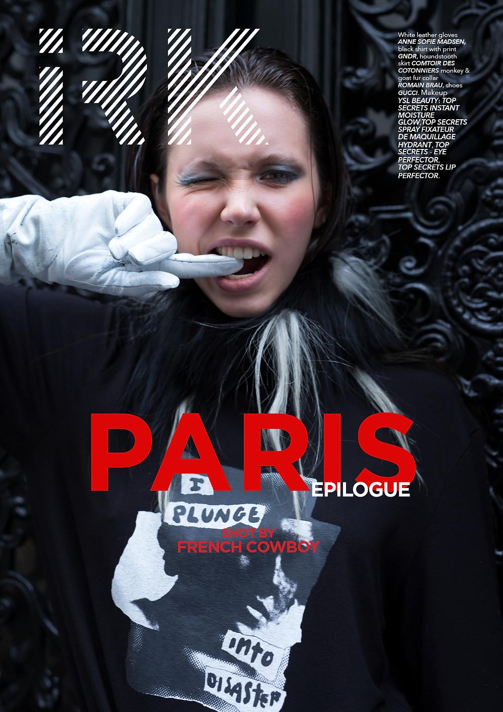 Mia Macfarlane  Editor- in Chief (of FRENCH COWBOY)