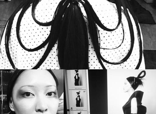 Behind the scenes photos from Japan for IRK Magazine shoot with photographer Tomokazu Hamada
