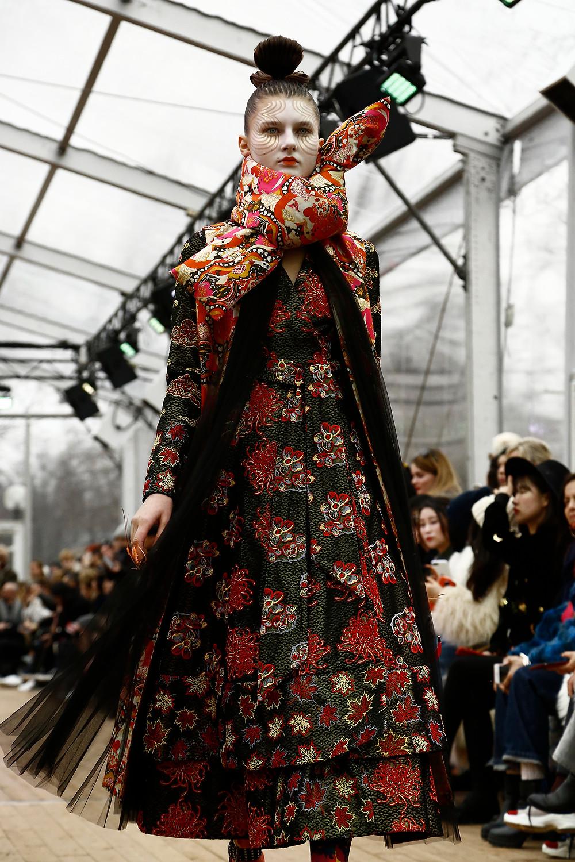 Manish Arora Fall/Winter 2018-2019 READY-TO-WEAR Fashion Show photograph by Gilar Farjah