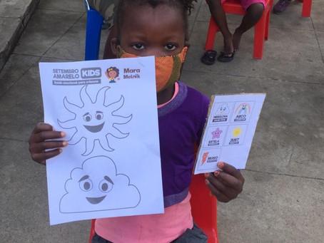 Saúde Emocional para as crianças em Moçambique