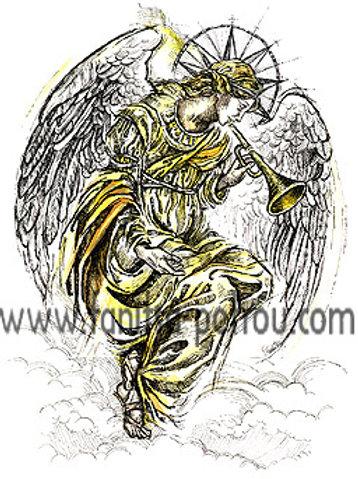 """Angelic calling"" card"