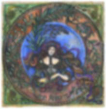 Fanitsa Petrou Art. Art Nouveau inspired. Romantic painting by Fanitsa Petrou. Bon Appetit. www.fanitsa-petrou.com