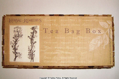 Mosaic Tea bag box - 2