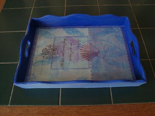 """""""Blue Sea"""" Tray"""