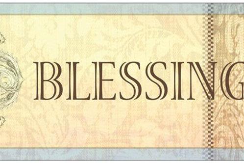 """Blessings"" card"